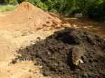 豚糞堆肥と国頭マージ20140404.JPG
